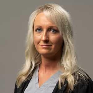 staff member Shawna